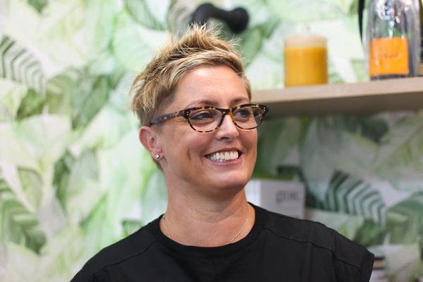 Cathie Crampton Smiling