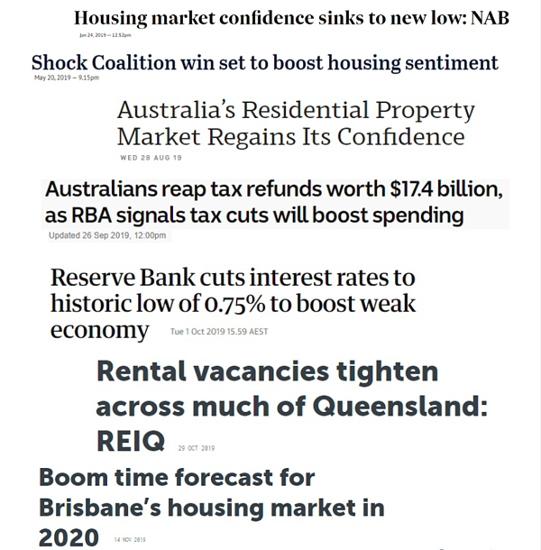 The news headlines that defined the 2019 property market