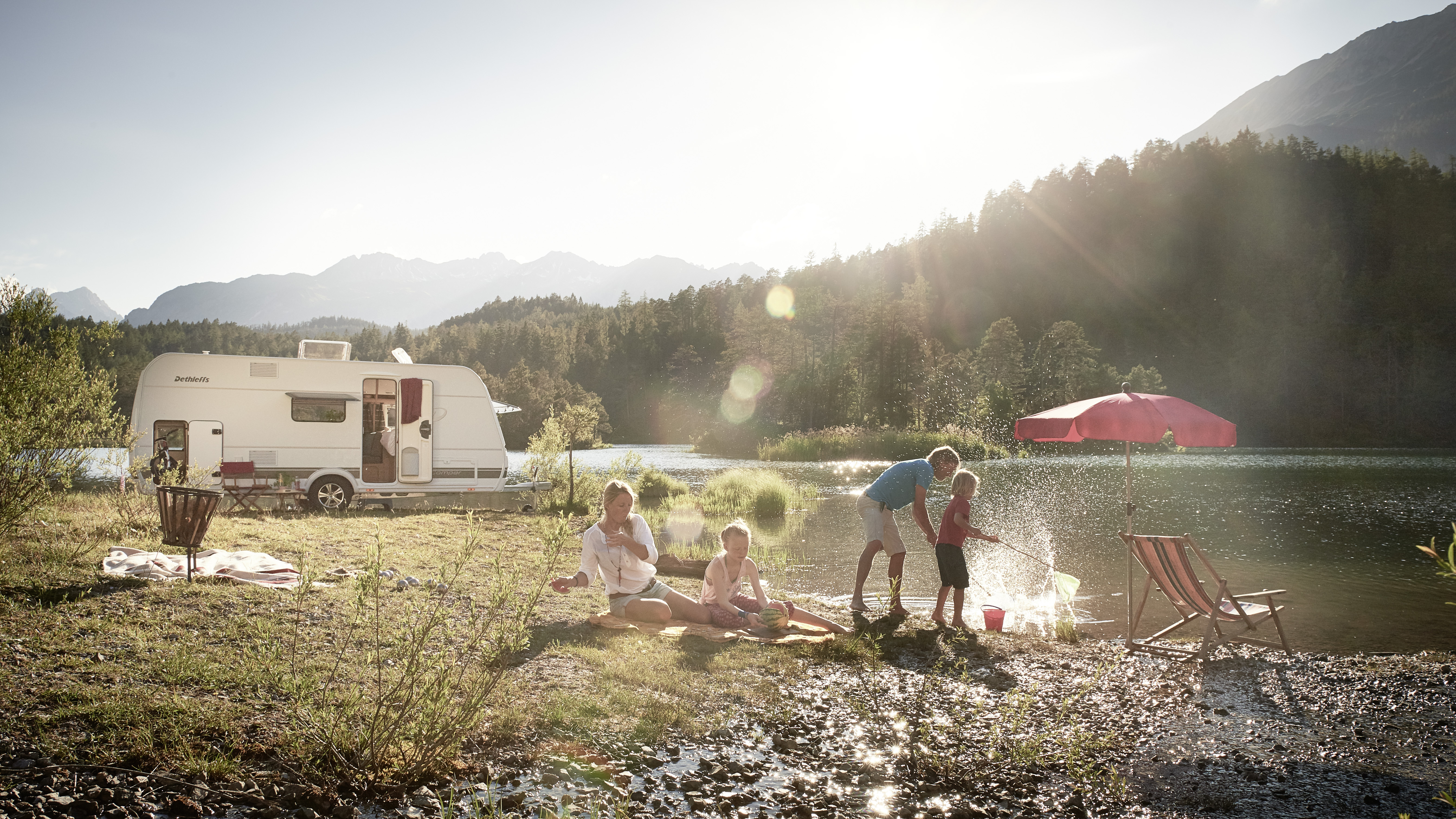 Campingferie i Norge med Ferda