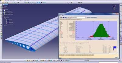 3D Simulation of an Aircraft Wing - focus on skin attachement