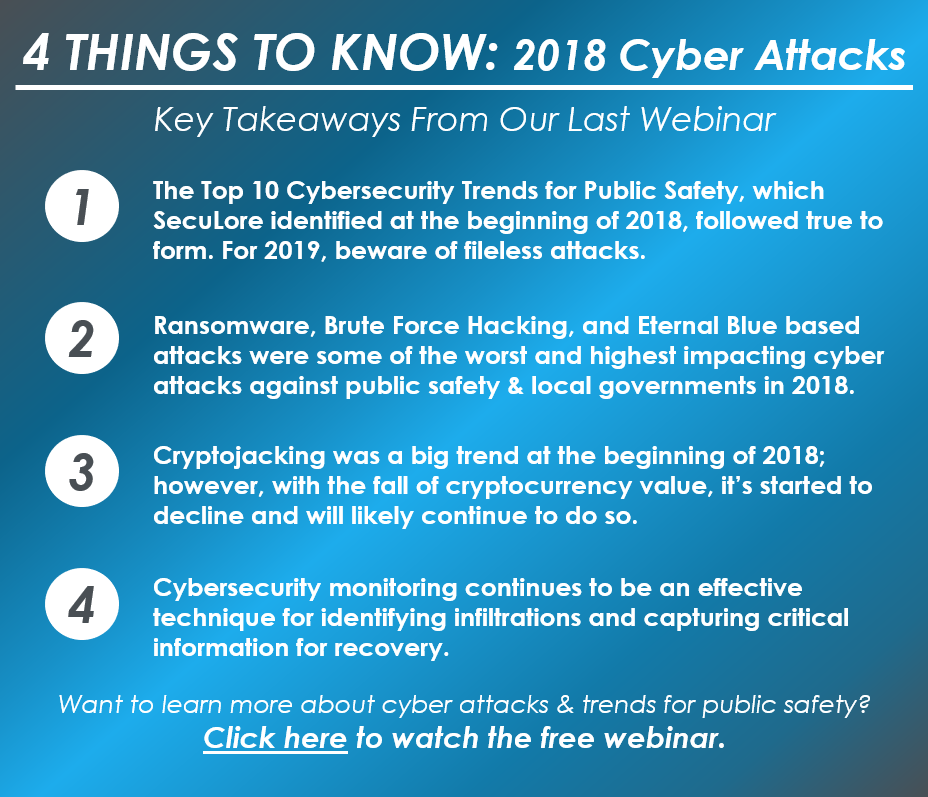 4 Things to Know - Jan 2019