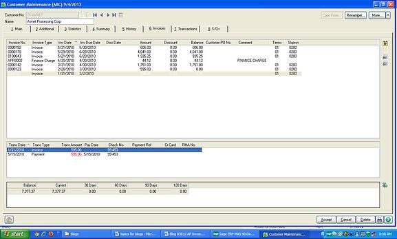 How to tip Sage 100 ERP: AR Balance Sheet and AR Aged ...