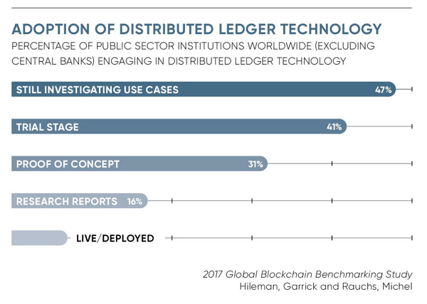 Public Sector Adoption of Distributed Ledger Technologies