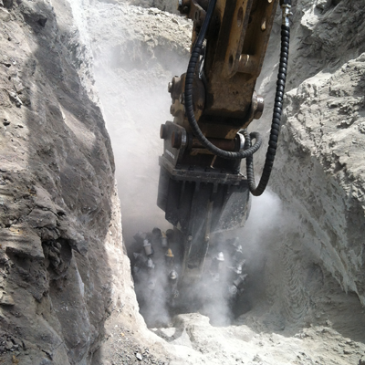 cutter-head-trenching