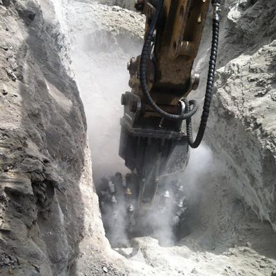 Alpine TC-D trenching near Pittsburgh, PA