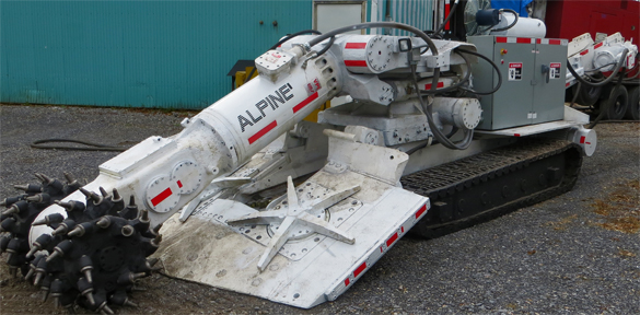Refurbished Am50 Roadheader Rolls Out Alpinecutter Com