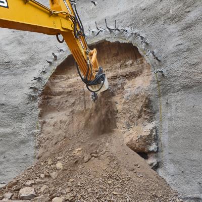 TC-C cutterhead beginning a tunnel