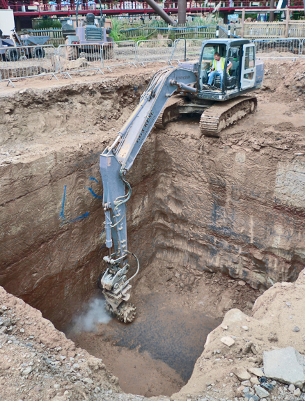3 Tips For Excavating A Foundation With A Rockwheel