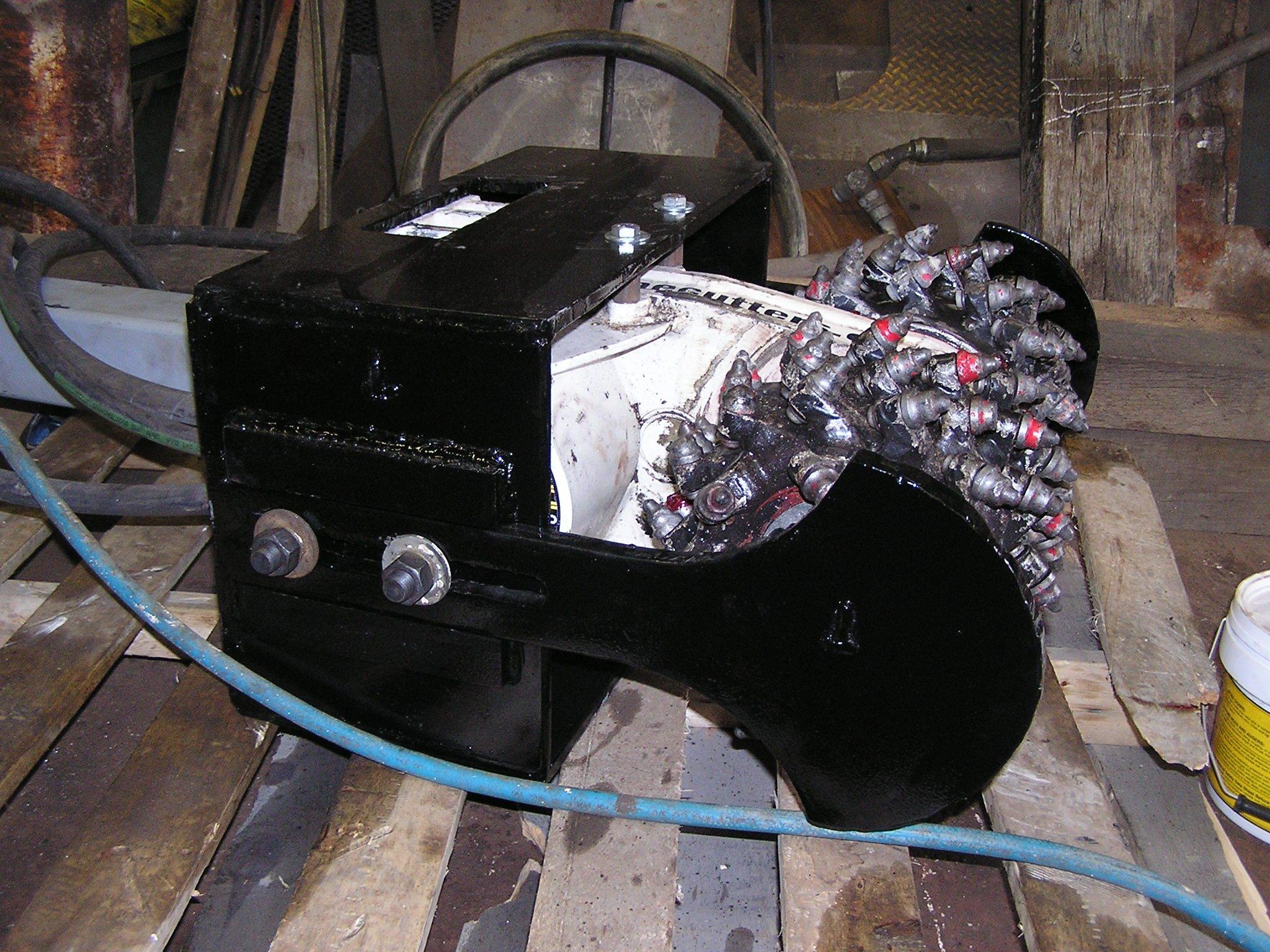 Alpine Cutterhead with adjustable depth control device