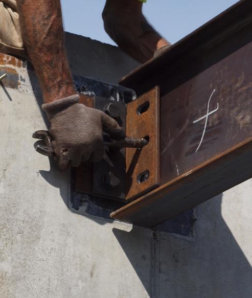 Installation of Steel Embeds