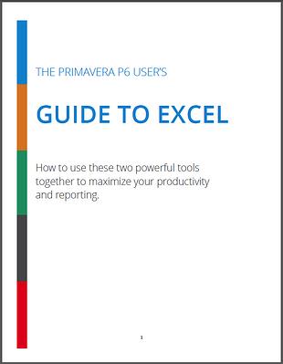 Excel__Primavera_P6_Guide