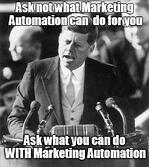 Marketing before automation