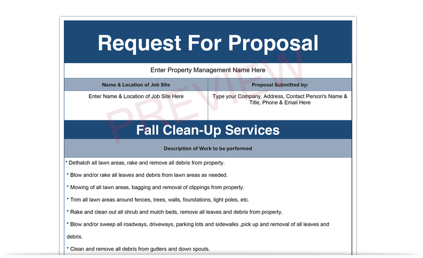 property management proposal template best resumes
