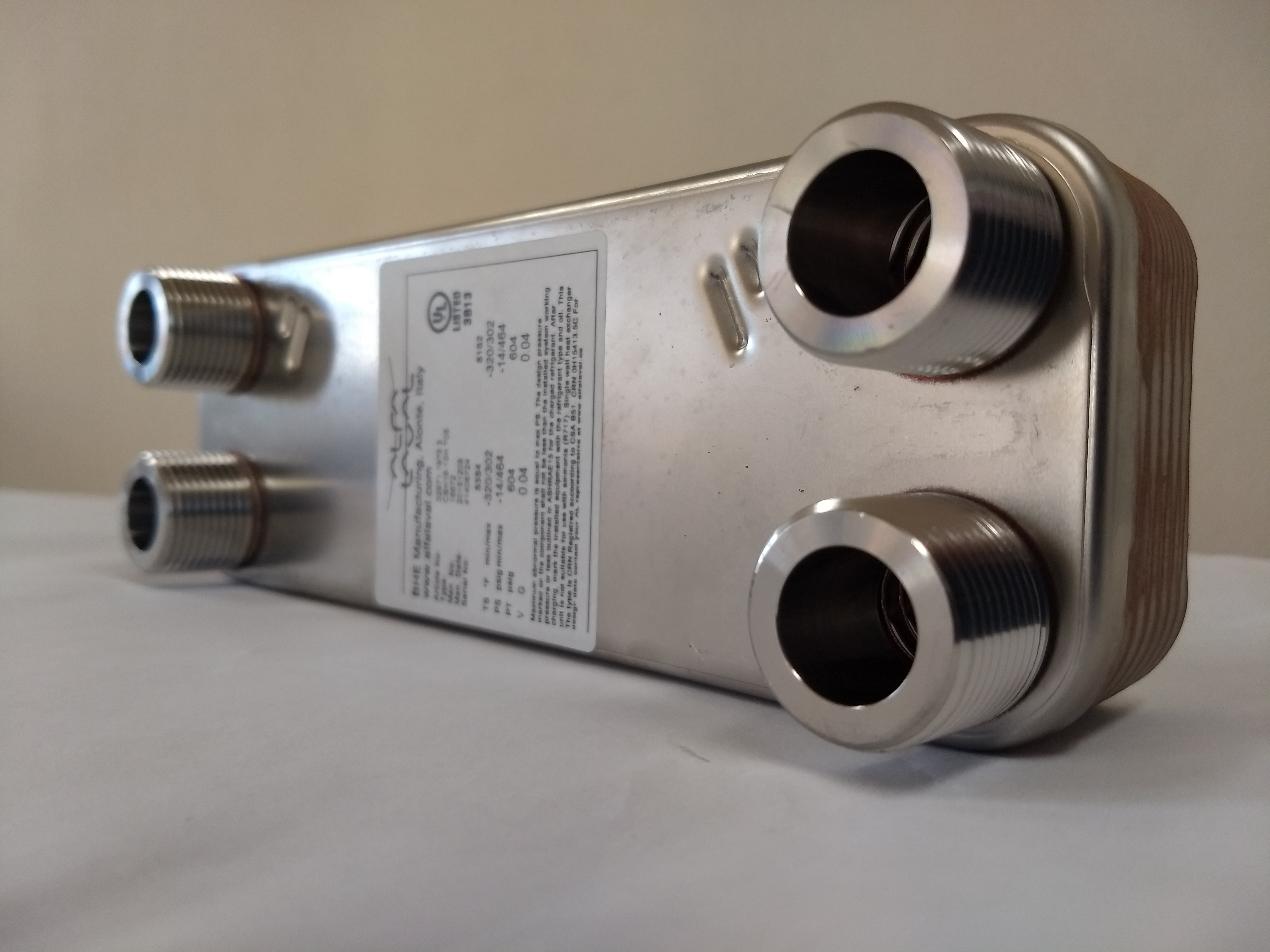 Heat Exchangers Welded plates Alfa Laval