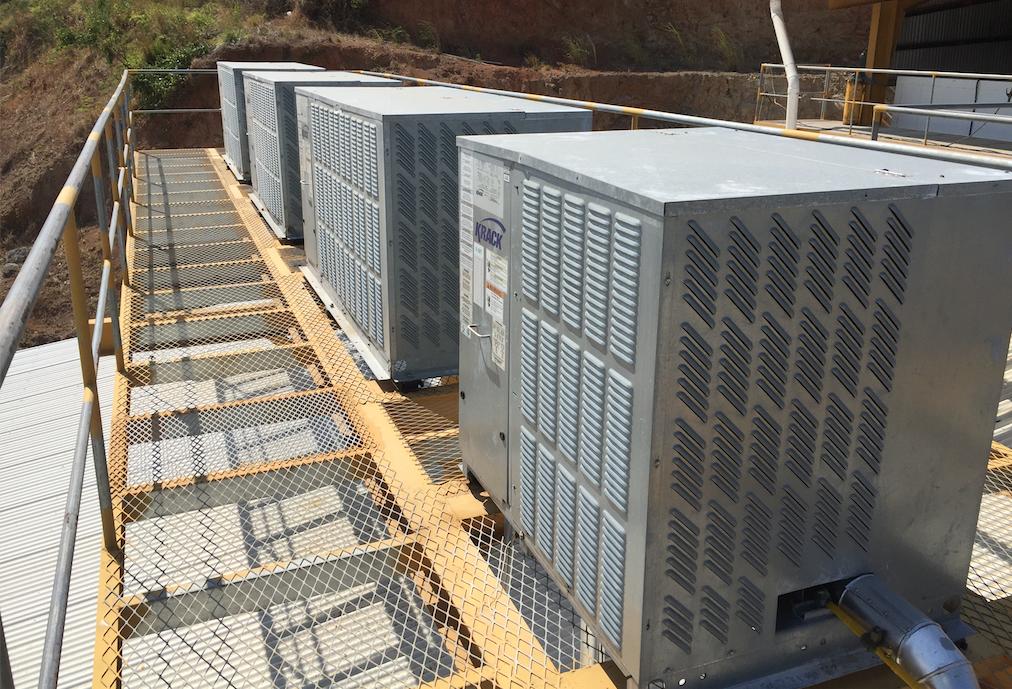 condensadoras krack para refrigeracion de pollos