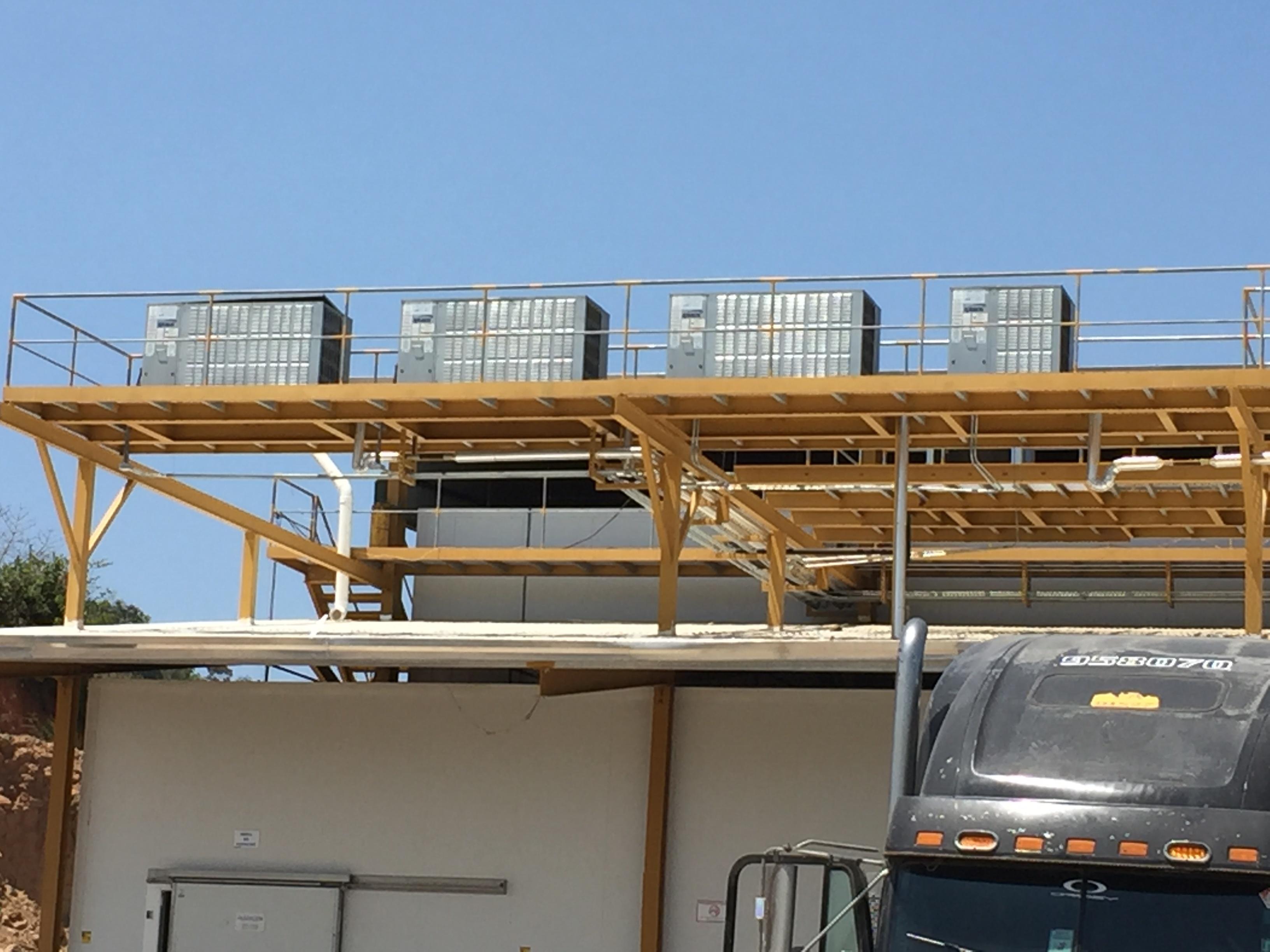 evaporadores y condensadoras para refrigeracion de pollos