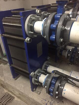 intercambiador de calor Alfa Laval