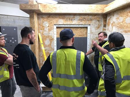 Baumit Academy Installer Course Attendees