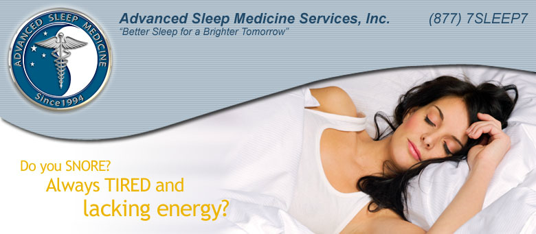 Do you Snore? Always Tired and lacking energy?