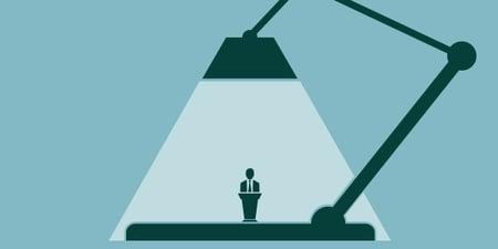 Shed light on your presentation skills. Practice.