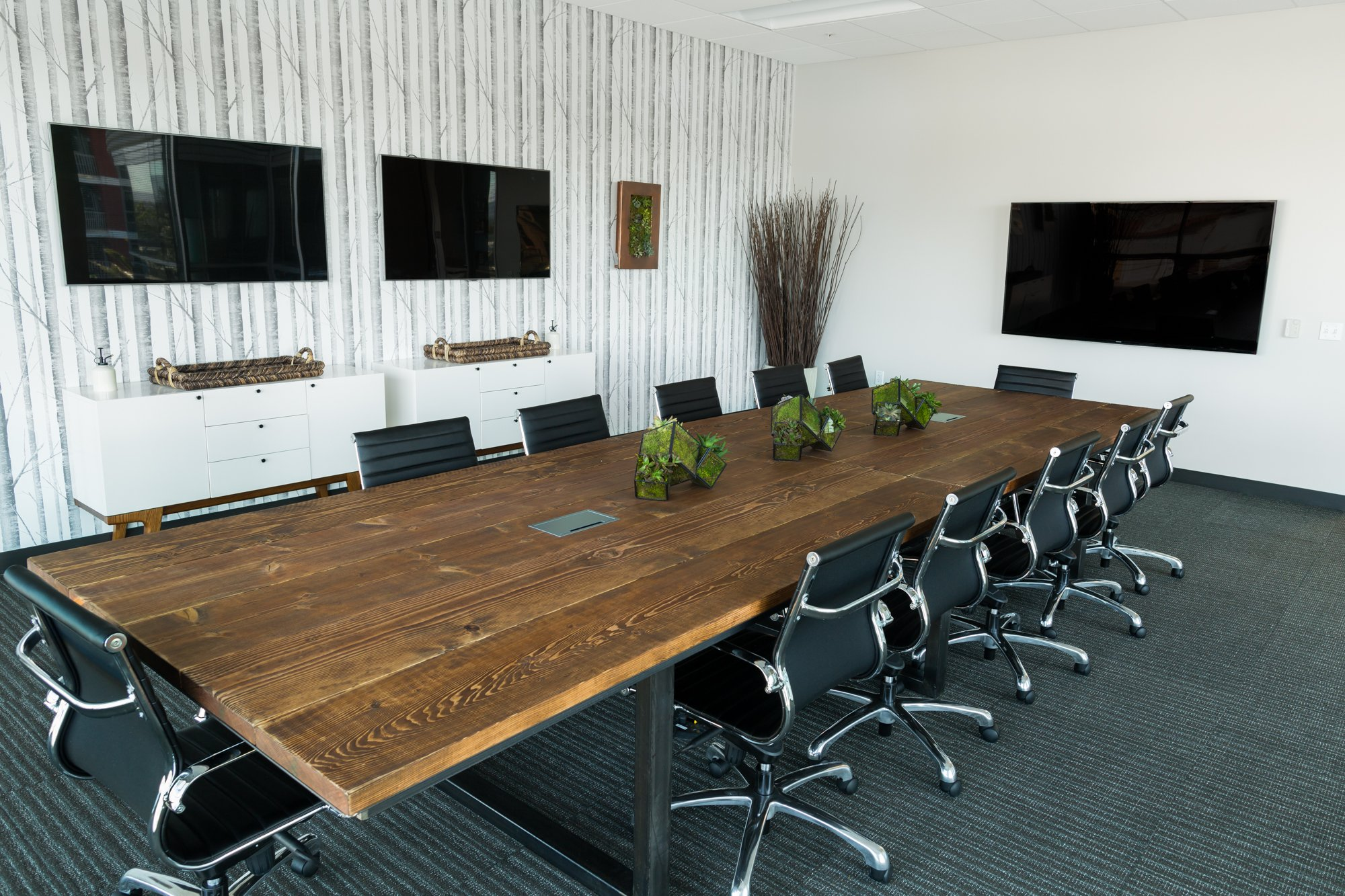 A Tour Of Highfives New Office - Conference table power hub