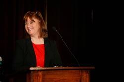Ohio State University College of Optometry faculty member Joan Nerderman, RN, OD
