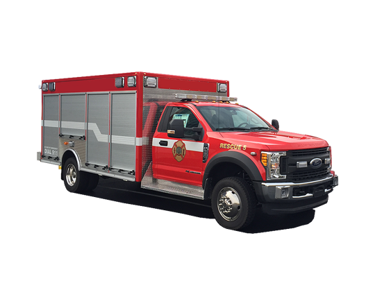 First Priority RedTac Fire Rescue Emergency Vehicles