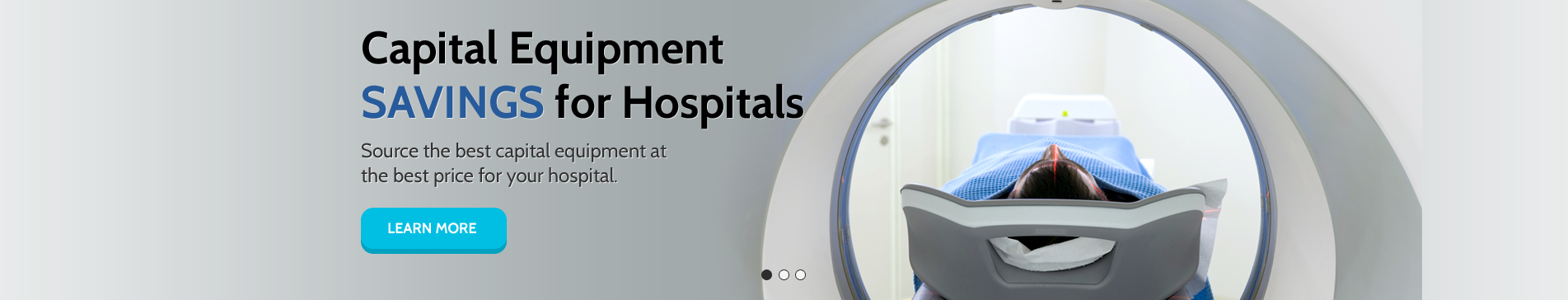 Capital Equipment Savings for Hospitals