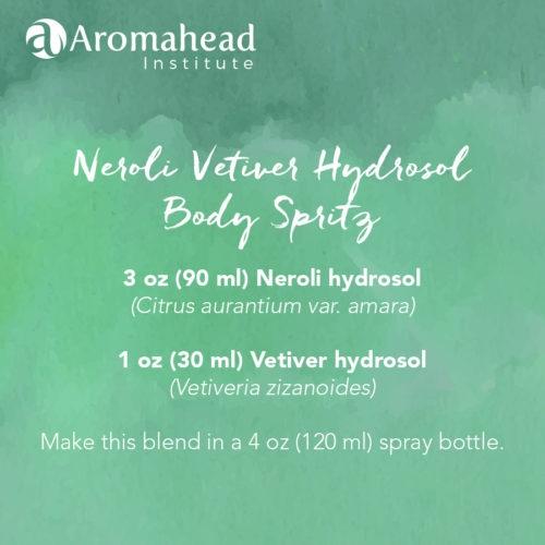 hydrosol body spritz