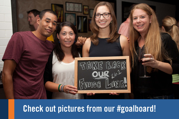 Check out pictures from our #goalboard