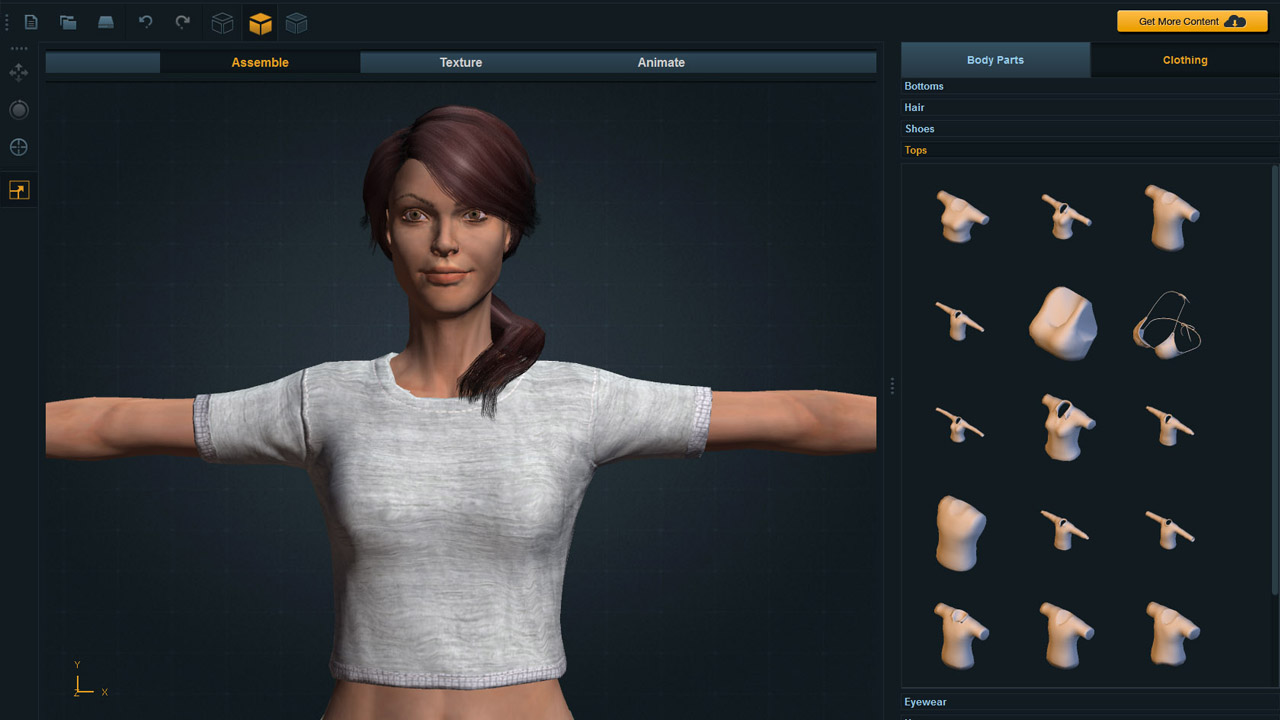 3d character creator for 3d building creator