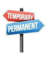 Temporary/Pemanent