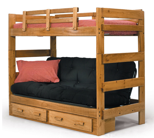 Futon Bunkbed A And Sofa In One