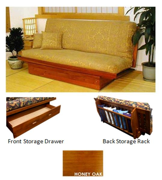 click for larger image  the futon store  futon frames ox armless hardwood futon frame  rh   futonstore memphis