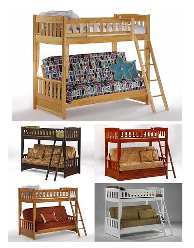 Camy Futon Bunk Bed