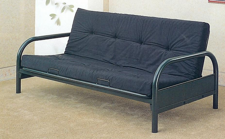 Basic Metal Futon Frame Black