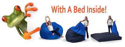 Bean Bag into Bed