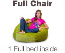 Full Bean Bag  sc 1 st  The Futon Store - Memphis & Full Bean Bag Chairs