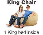 King Bean Bag Bed