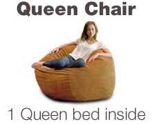 Queen Bean Bag Chair