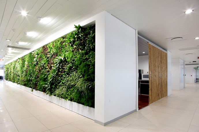 Designers! Incorporate green walls into your business model