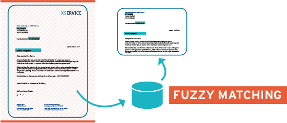 Fuzzy Matching: Unscharfe Suche in Dokumenten