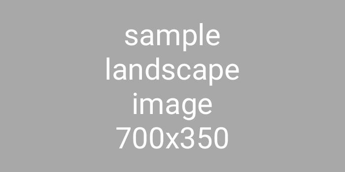 Sample Landscape Image