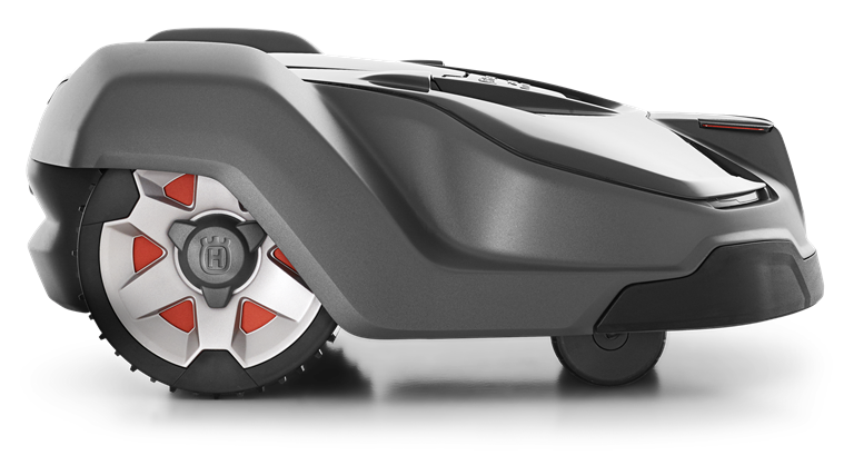 Side view of the Husqvarna Automower 450X