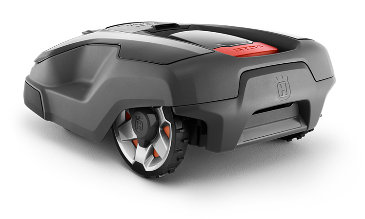 Back view of the Husqvarna Automower 315X
