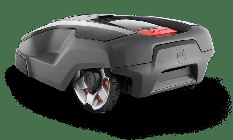 Back view of the Husqvarna Automower 315X