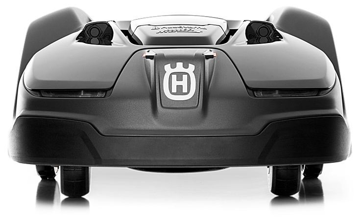 Front view of the Husqvarna Automower 450X