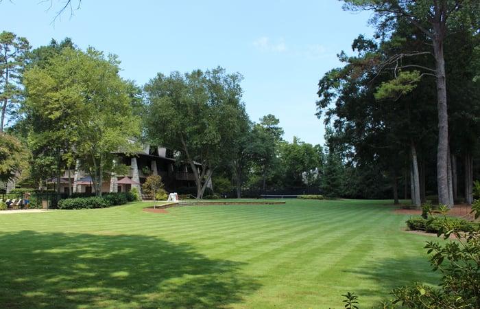 A large Zeon Zoysia lawn
