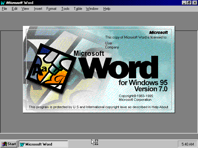 word-95