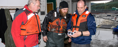 Salmon farmers manage evacuations with Blackline Safety